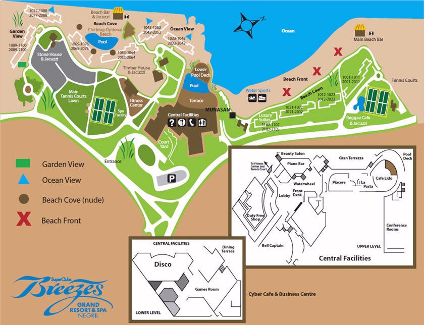 Resort map grand lido negril jamaica gumiabroncs Image collections